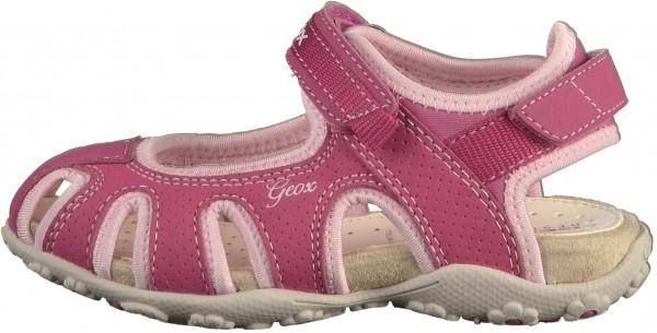 Geox Sandalen Lederimitat/Textil Raspberry