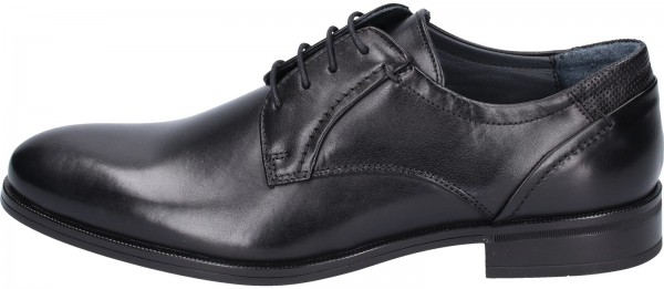 Mercedes Business shoes Leather black2