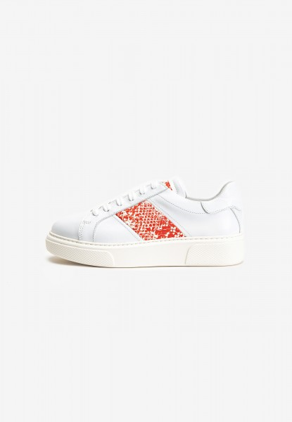 Inuovo Sneaker Leder Weiß/Rot