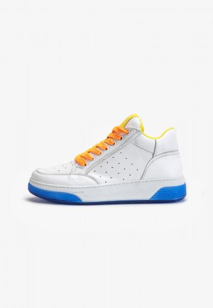 Inuovo Sneaker Leder Yellow