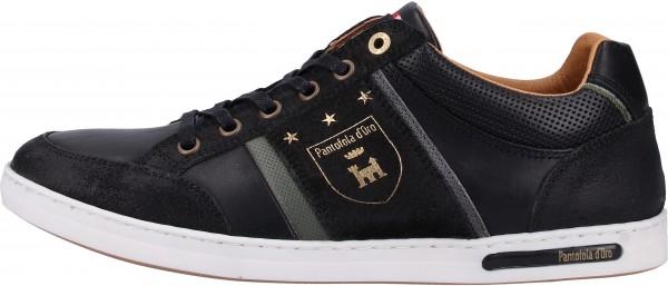 Pantofola d Oro Sneaker Leder Schwarz