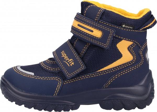 Superfit Stiefel Textil Blau/Gelb