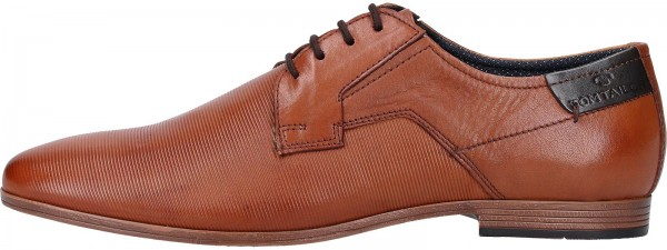 Tom Tailor Business shoes Leather Cognac