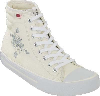 PAPILLIO Fanfare Schuhe Textil White