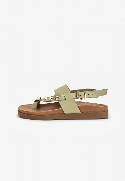 Inuovo Sandals Leather Olive