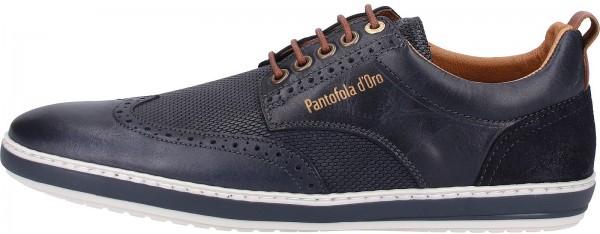 Pantofola d Oro Sneaker Leder Dunkelblau