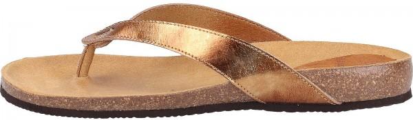 Scholl Sandalen Leder Beige