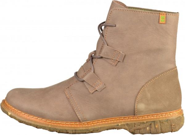 El Naturalista Booties Leather brown