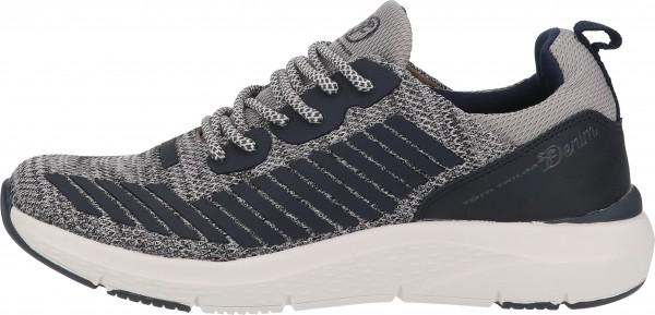 Tom Tailor Sneaker Lederimitat/Textil Grau