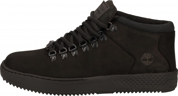 Timberland Sneaker Leder Schwarz
