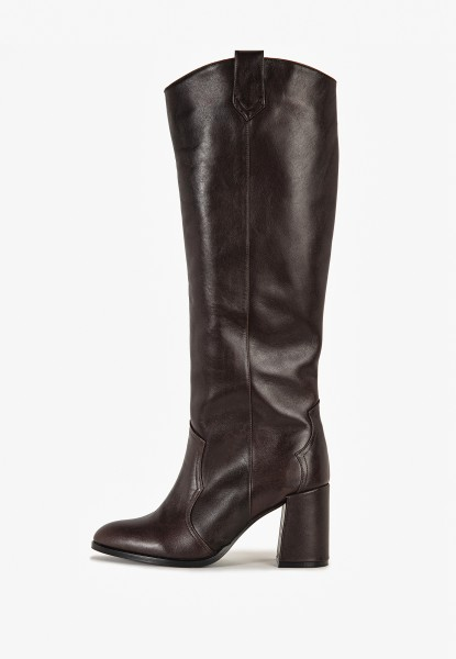 Inuovo Stiefel Leder Coffee