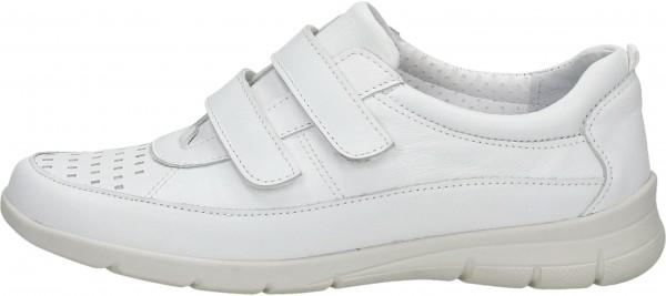 Bama Halbschuhe Leder Weiß