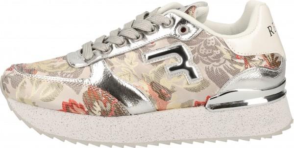 Replay Sneaker Lederimitat/Textil Beige