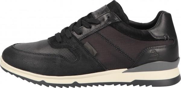 Bullboxer Sneaker Leather/Textile black2