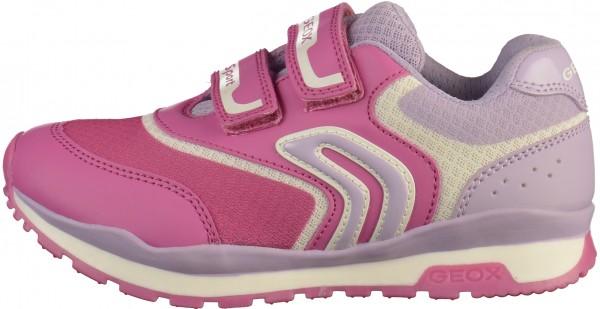 Geox Sneaker Lederimitat/Textil Fuchsia