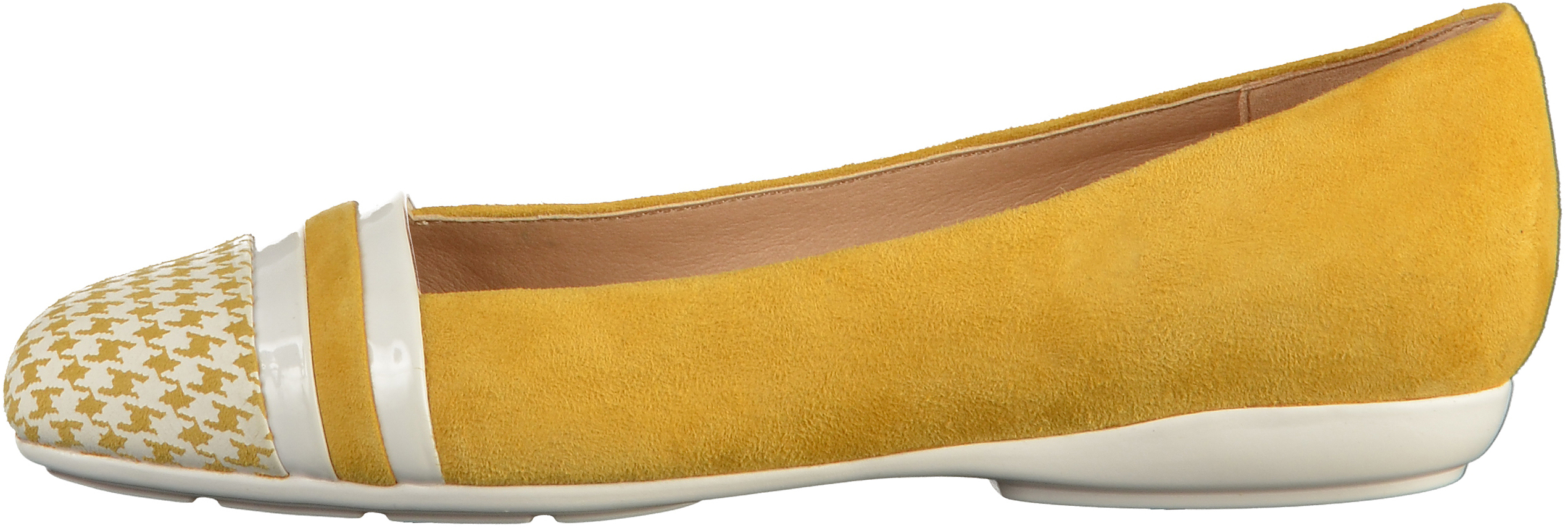 Geox Ballerinas Suede leather Yellow