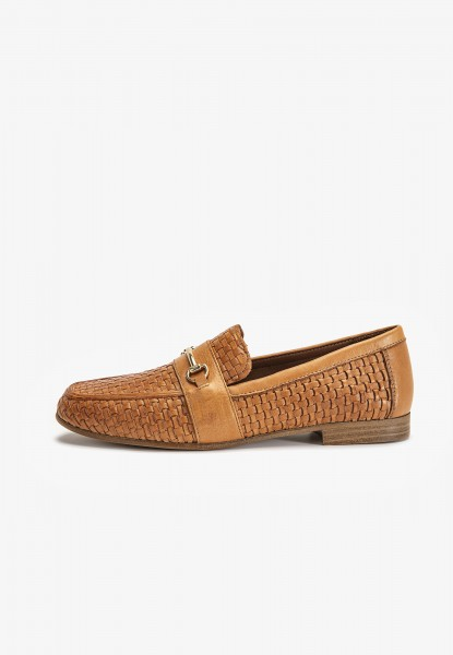 Inuovo Loafers Leather Medium Brown