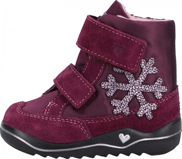 Pepino Stiefel Leder/Textil Lila