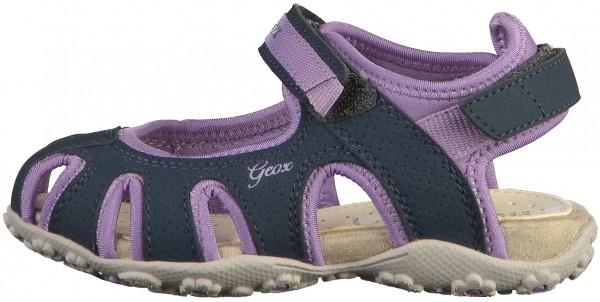 Geox Sandals Syntetik/Textile Navy/Viola