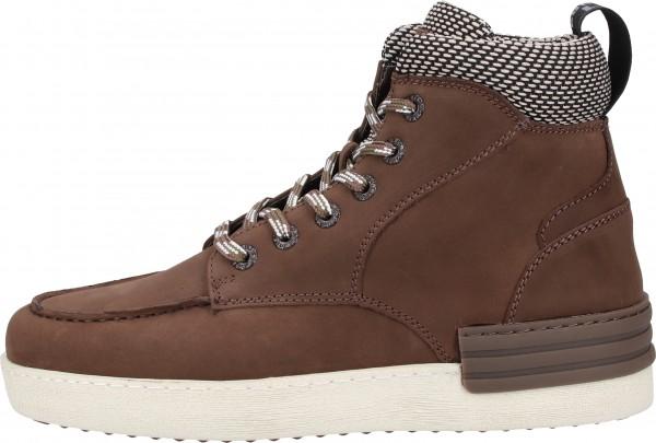 Replay Sneaker Leder/Textil Dunkelbraun