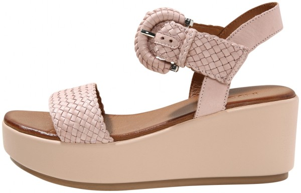 Inuovo Sandals Leather Rose