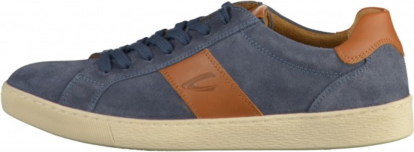 camel active Sneaker Leather Blue/Brown
