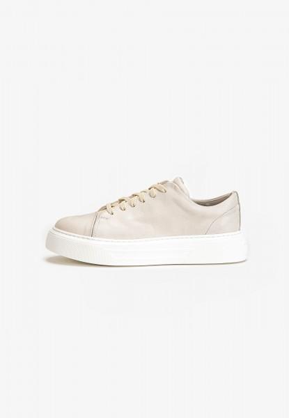 Inuovo Sneaker Leder Creme