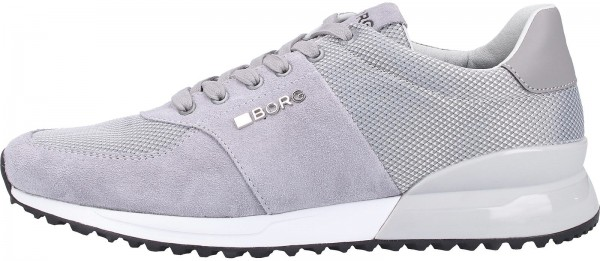 Björn Borg Sneaker Suede/Mesh Light Gray