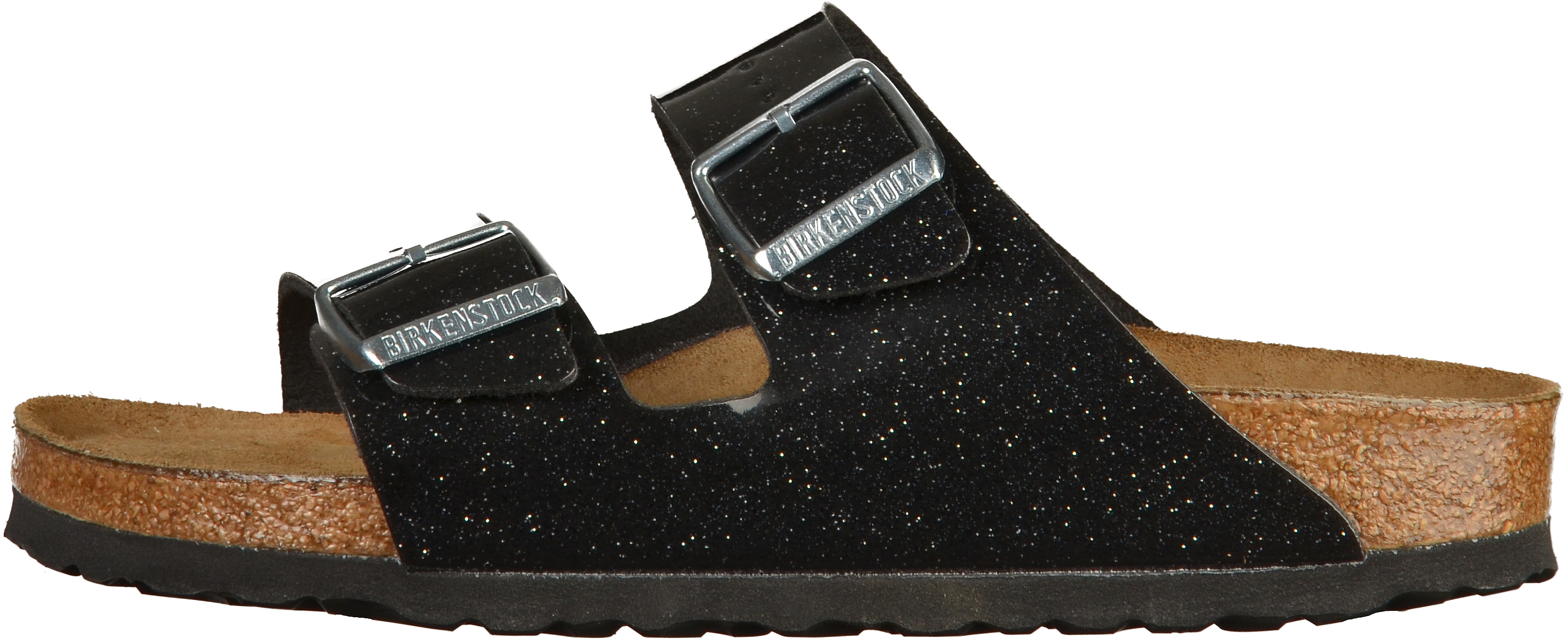 a6599bccaa6f35 BIRKENSTOCK Arizona BS Pantoletten Birko-Flor Magic Galaxy Black ...