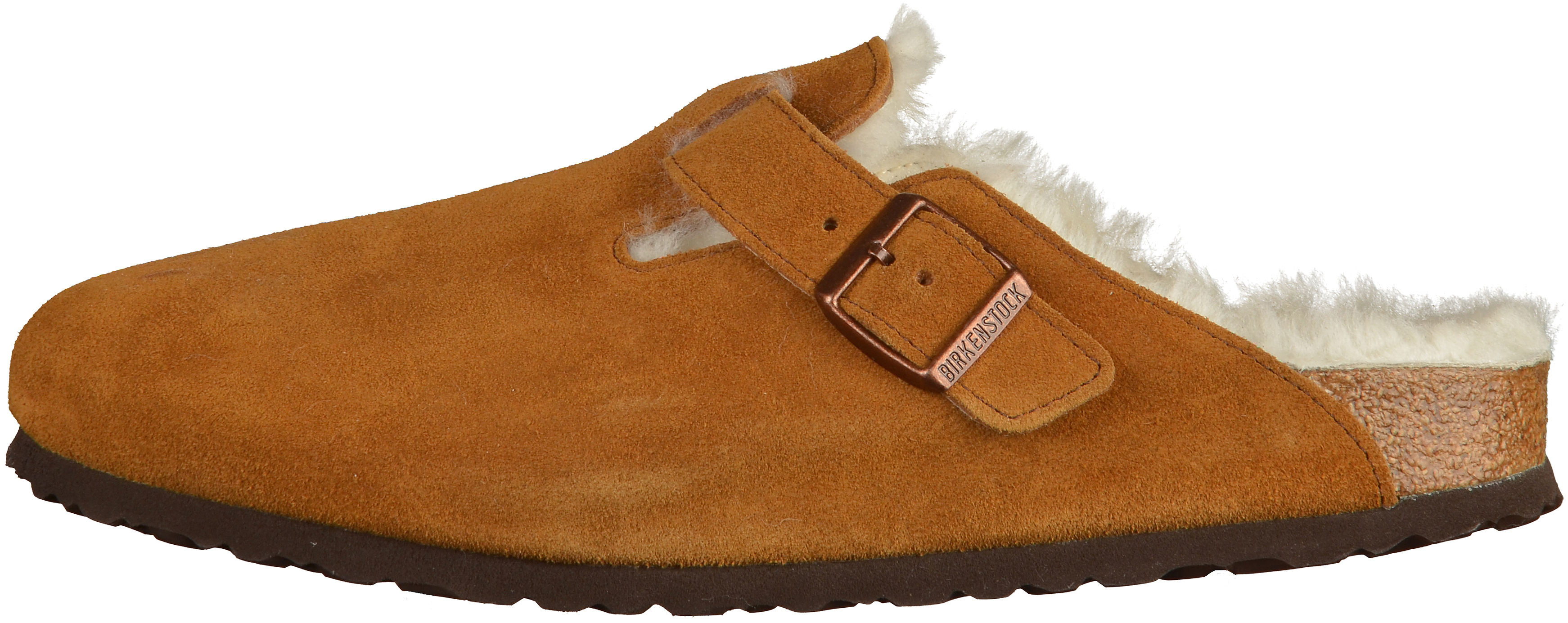 6cc6abef41 BIRKENSTOCK Boston Clogs Suede leather Mink