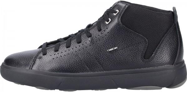 Geox Sneaker Leder Schwarz