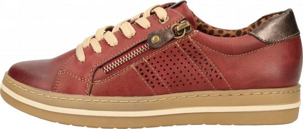 Relife Sneaker Lederimitat Rot
