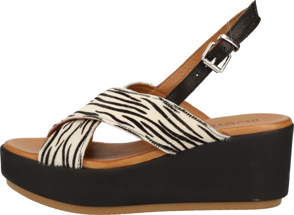Inuovo Sandals Leather Black/White