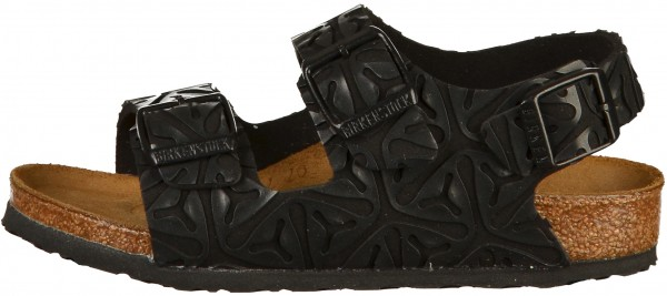 Birkenstock Milano Kids Sandals Microfibre Seaweed Black