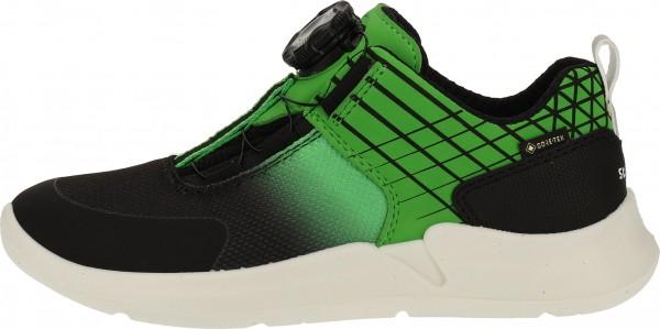 Superfit Sneaker Synthetik/Textil Schwarz/Grün
