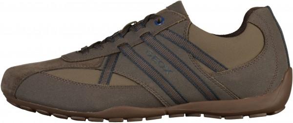Geox Sneaker Lederimitat/Textil Mud