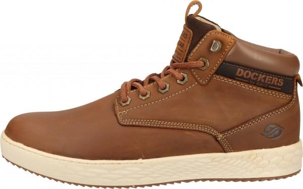 Dockers Sneaker Leder Cafe