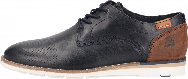 Bullboxer Lace Ups Leather mid-blue