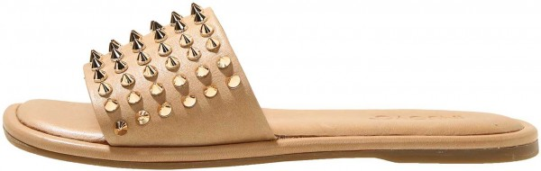 Inuovo Mules Leather Light Brown