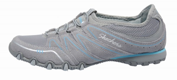 Skechers Sneaker Leder/Textil Hellgrau