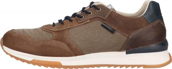 Bullboxer Sneaker Leather/Textile Beige