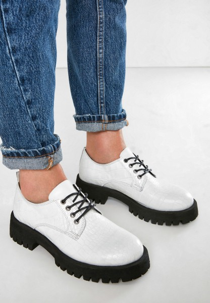 Inuovo Lace Ups Leather White