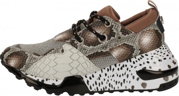 Steve Madden Sneaker Lederimitat/Textil Braun