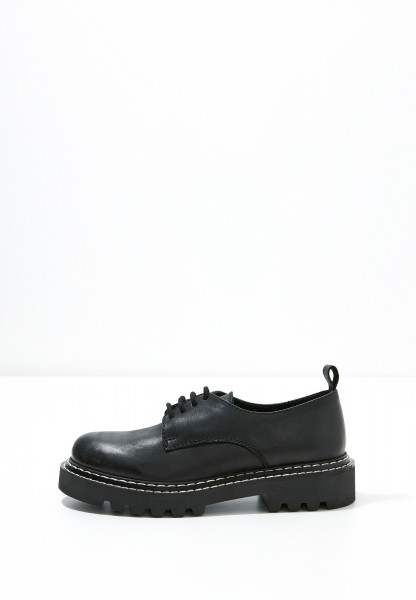 Inuovo Lace Ups Leather black2