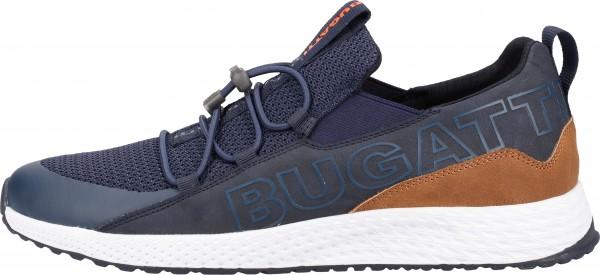 Bugatti Sneaker Leder/Textil Dunkelblau