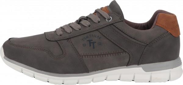Tom Tailor Sneaker Lederimitat Grau