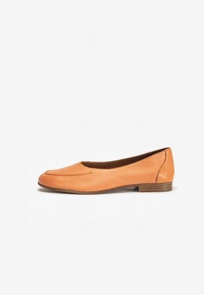 Inuovo Slipper Leder Orange