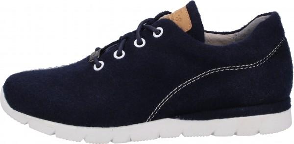 Jana Sneaker Lederimitat/Textil Navy