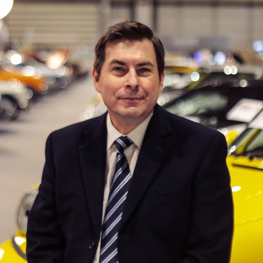 Nick Bicknell- Classic Car Specialist at Silverstone Auctions