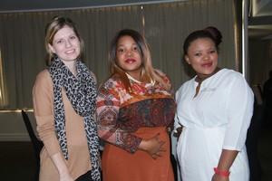 Tessa Apostolides, Zama Malunga & Sandy Mabena (Primedia Lifestyle).